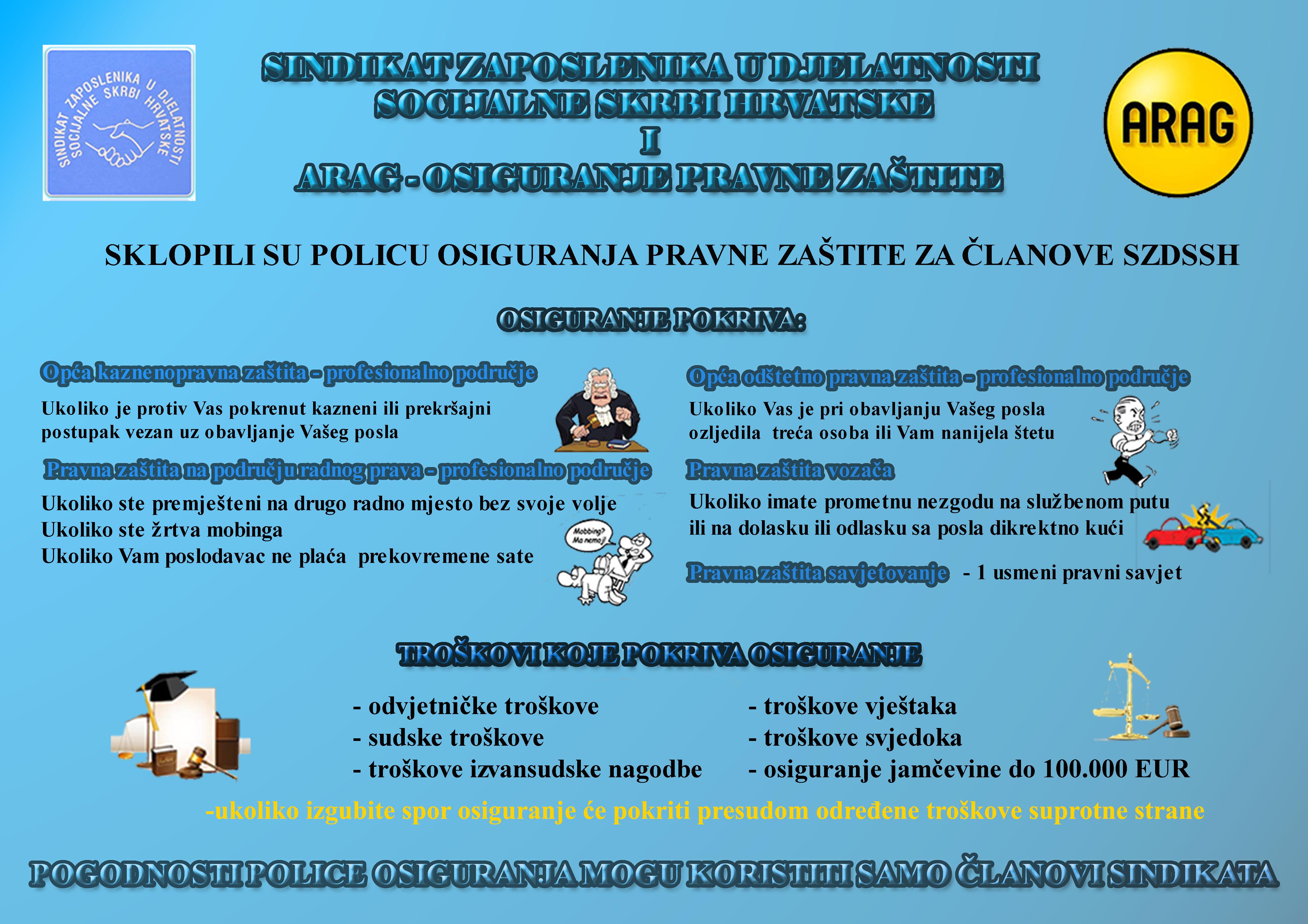 Posebna ponuda osiguranja za članove SZDSSH-a